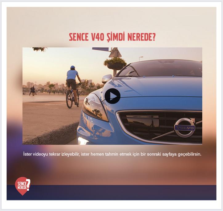Volvo Facebook Kampanyası