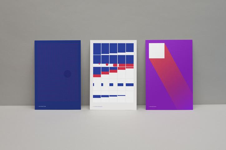 google material design kartpostal tasarımlar