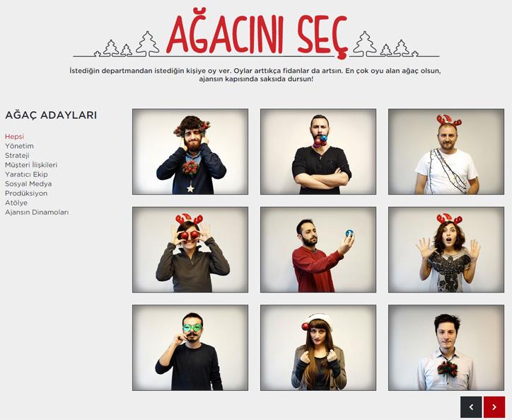 Publicis Türkiye Yılbaşı Kampanyası