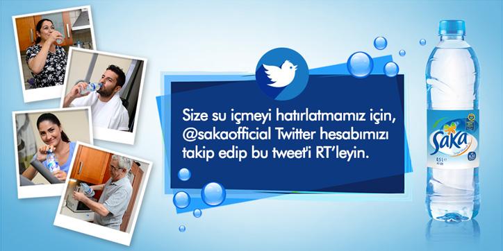 saka su twitter kampanyası