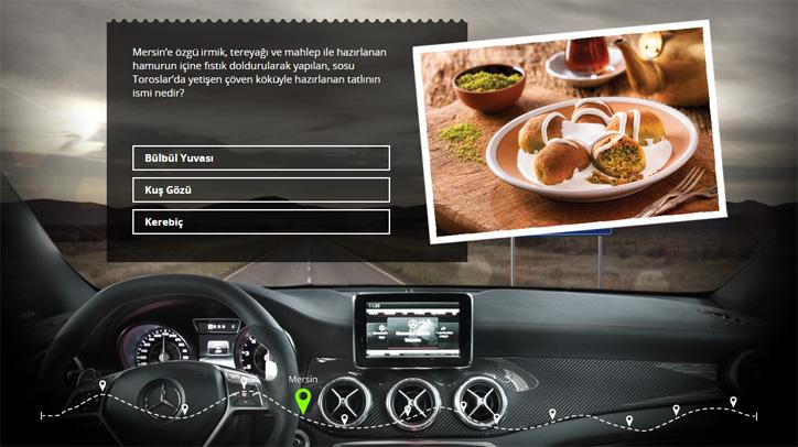 Mercedes-Benz Lezzetli Bir Yolculuk