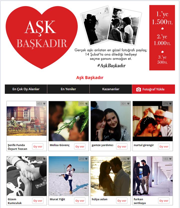 mudo facebook kampanyası aşk başkadır