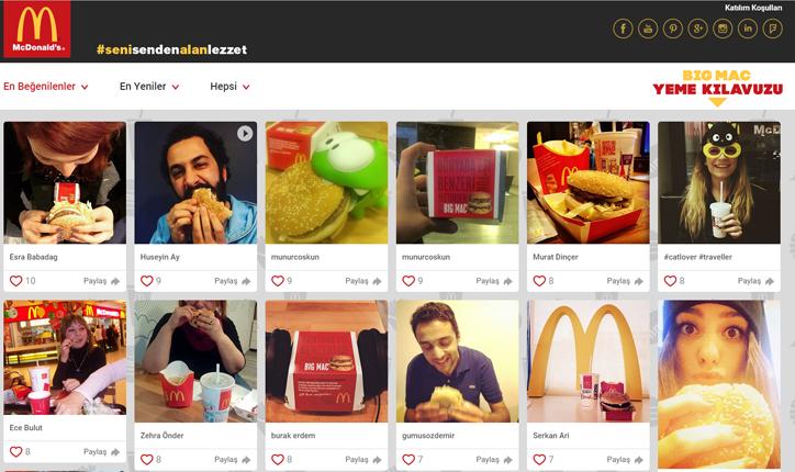 McDonald's Sosyal Medya Kampanyası