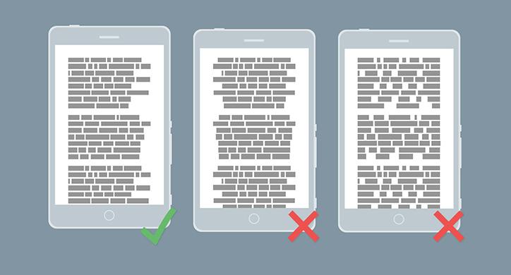 mobil arayüz tasarımları