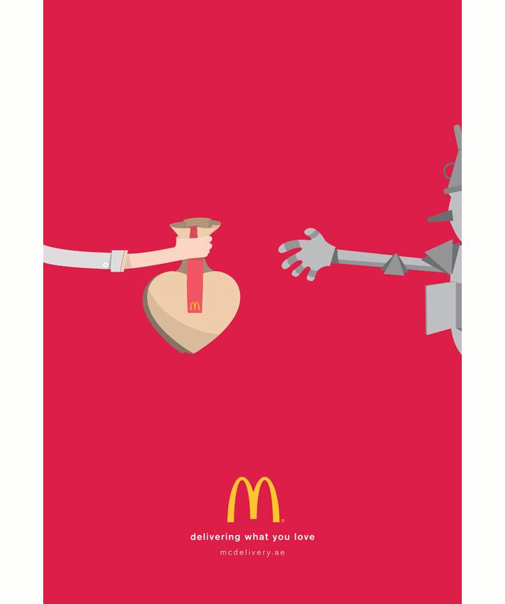mcdonalds delivery kampanyası
