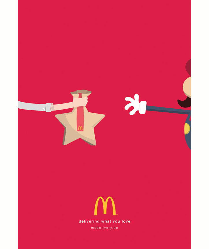 mcdonalds mcdelivery kampanyası