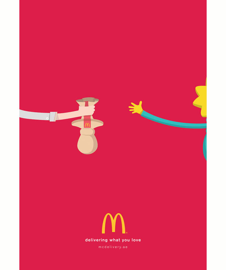mcdonalds paket servis kampanyası
