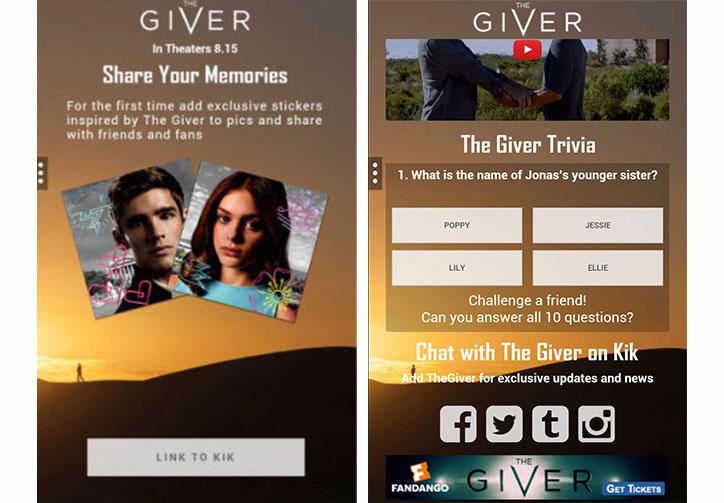 sosyal uygulamalarla yapılan kampanyalar