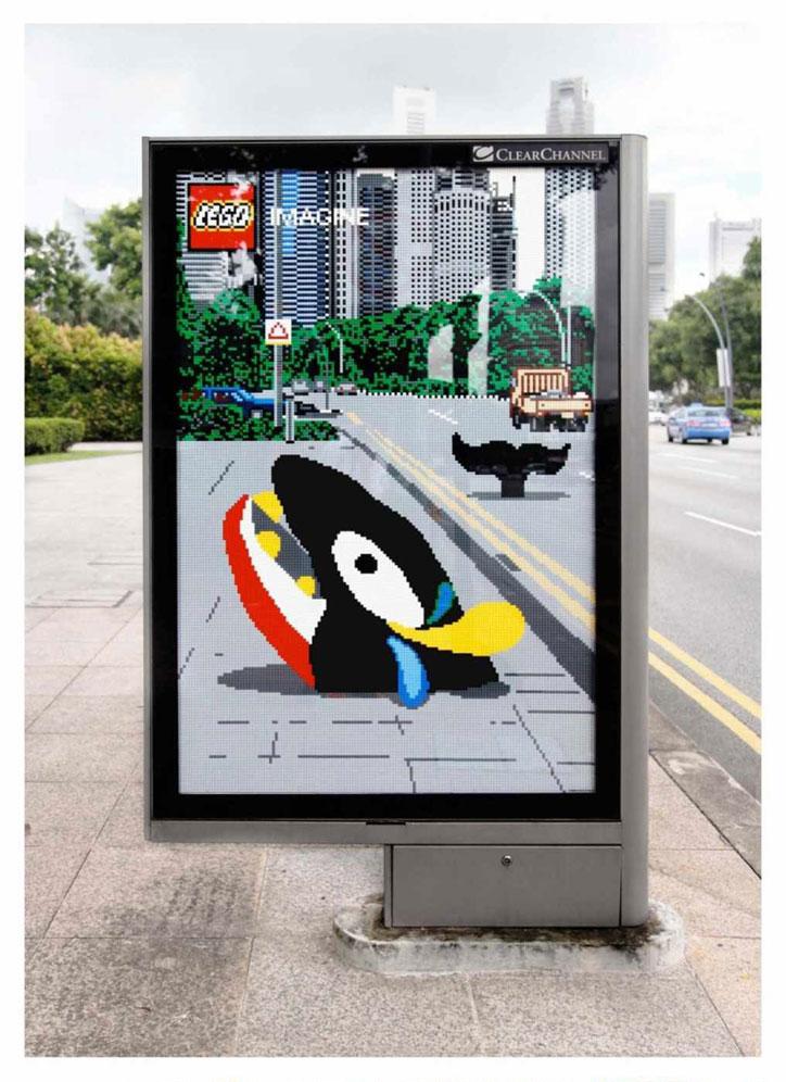 yaratıcı basılı reklamlar