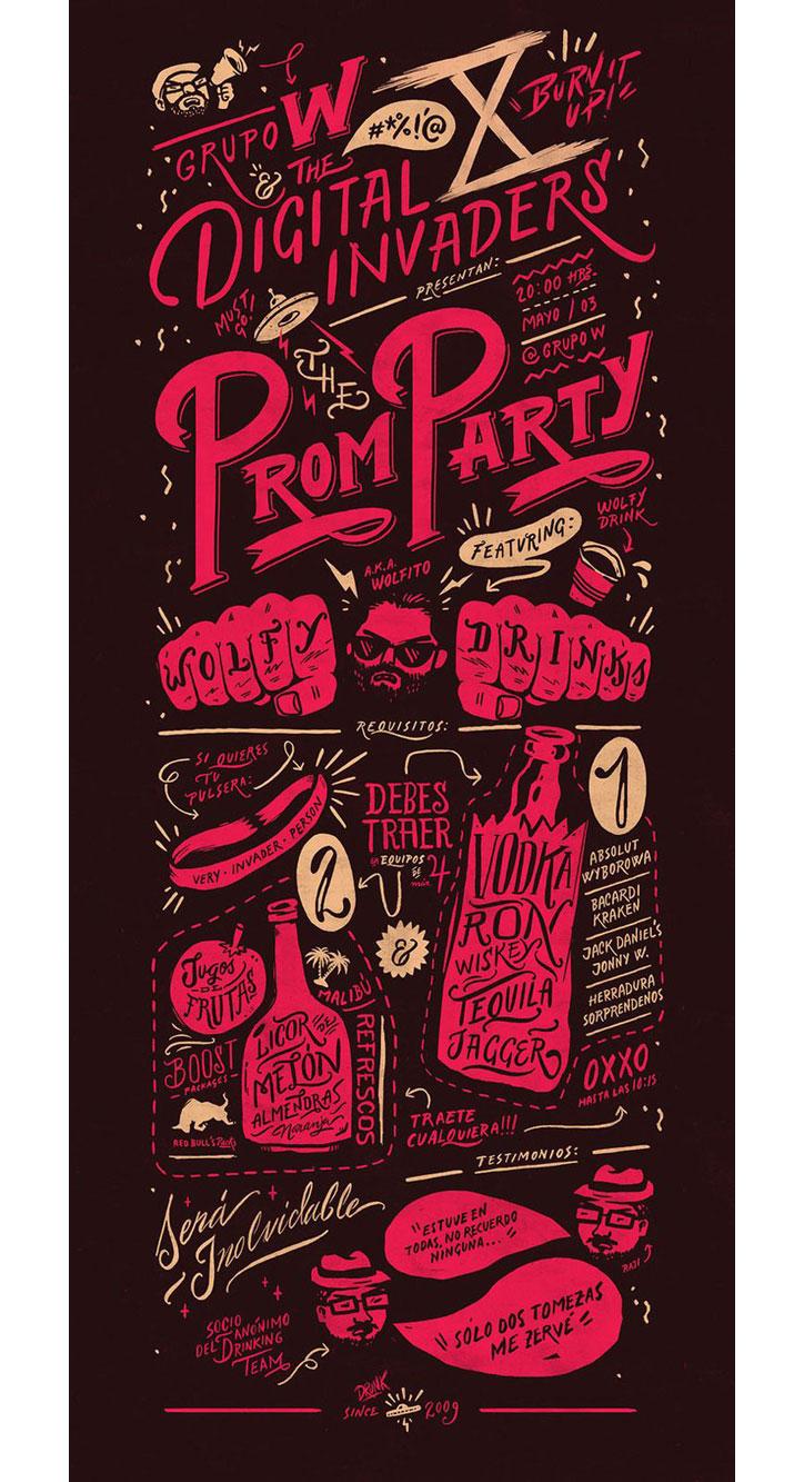 yaratıcı illüstrasyon poster tasarımları