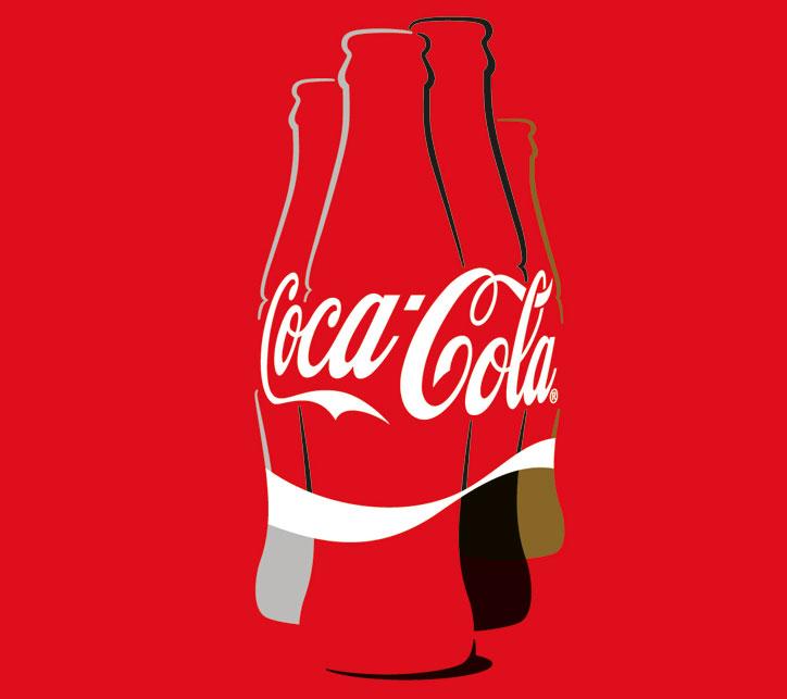 coca cola görsel kimlik
