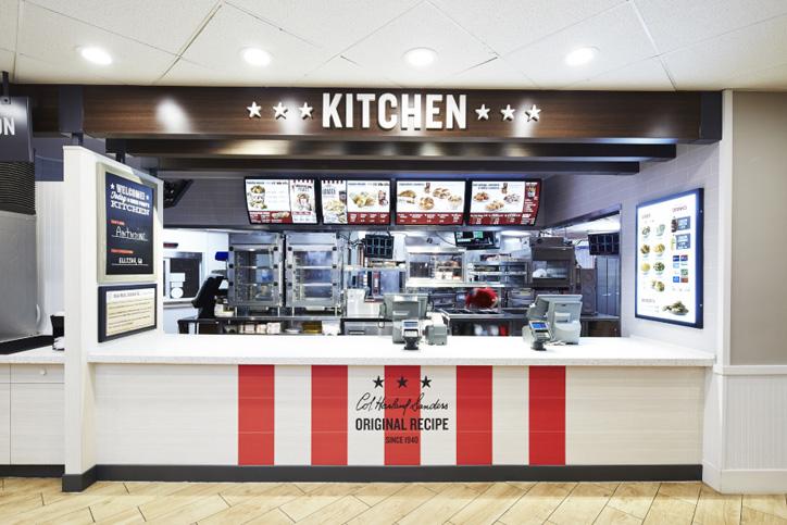 kfc restoran tasarım