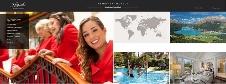 örnek otel web siteleri
