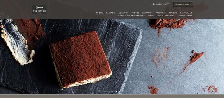 otel web sitesi tasarımı