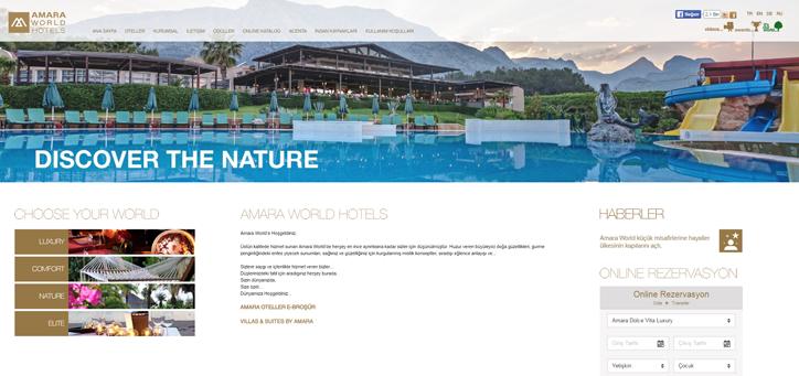 otel web tasarımı