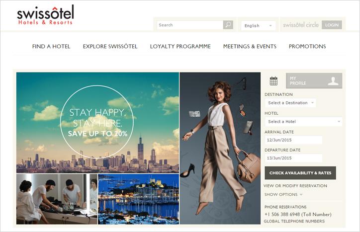 otel web tasarım örnekleri