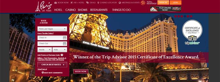 yaratıcı otel web siteleri