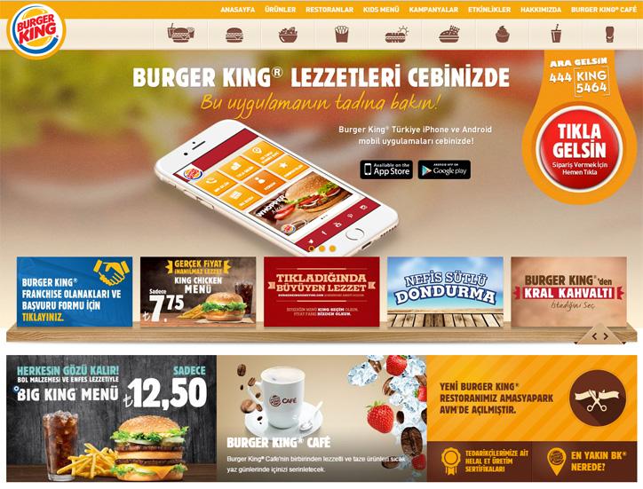 Woohoo Digital Burger King Web Awards