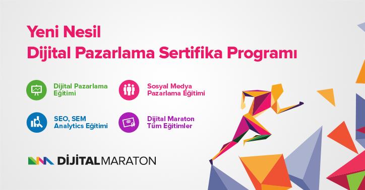 Dijital Maraton - Sosyal Medya Pazarlama Eğitimi
