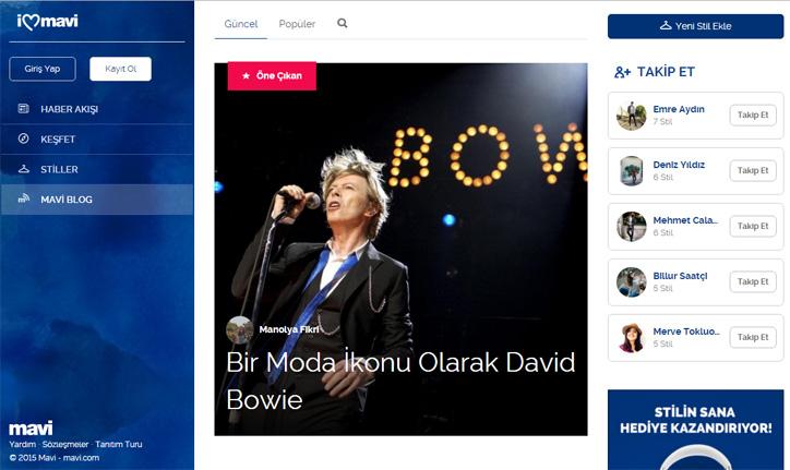 Mavi Sosyal Platform: ilovemavi.com
