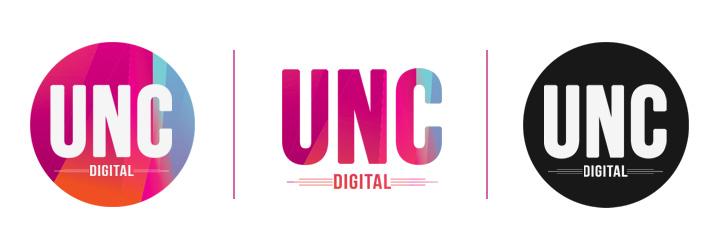 UNC Digital Kurumsal Kimliği