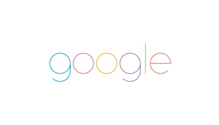 google minimal logo