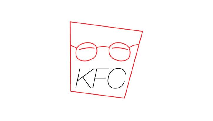 kfc minimal logo