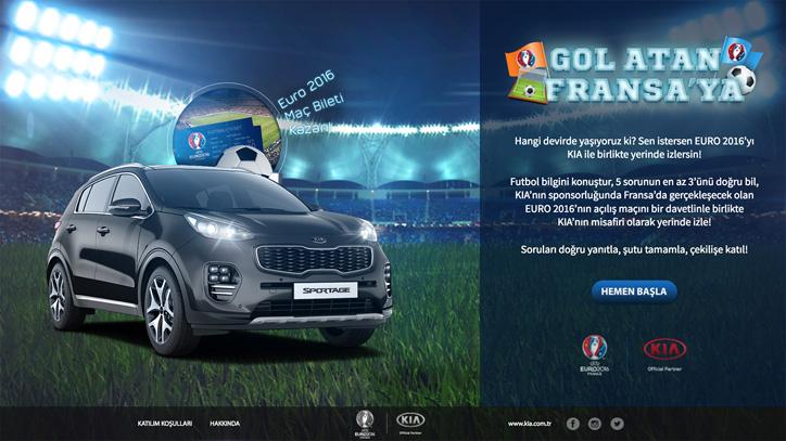 KIA Gol Atan Fransa'ya Oyununda