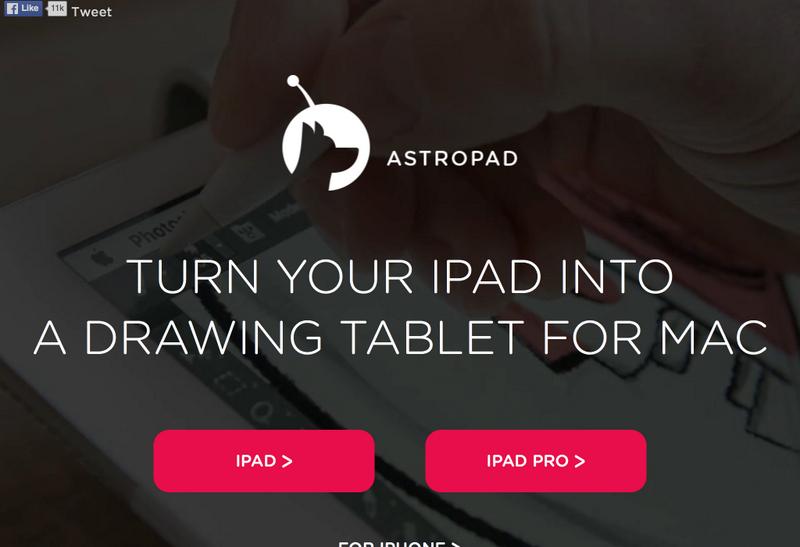 Popüler Görsel Tasarım Araçları 2016 Astropad