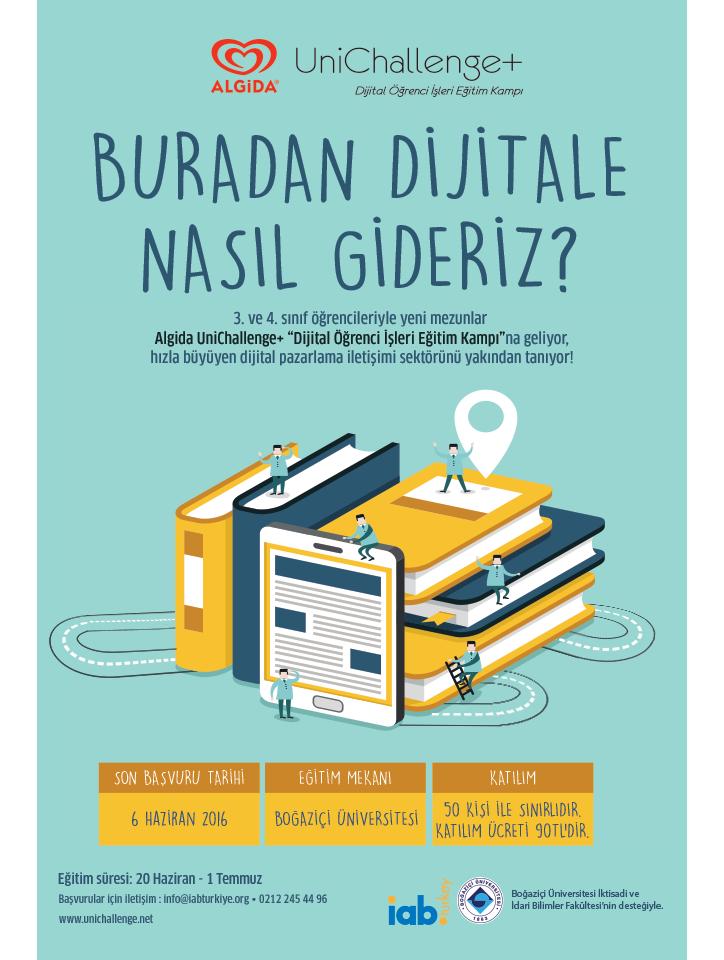 Algida ve Uni Challenge+ ile Dijital Öğrenci İşleri Kampı Yeniden Başlıyor