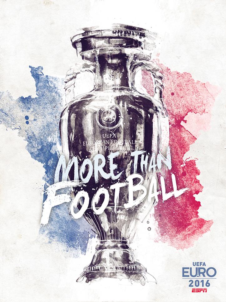 Fransız Tasarımcıdan Euro 2016'ya Özel İllüstrasyonlar