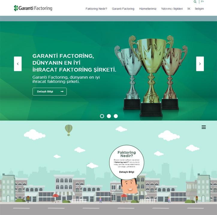 garanti factoring web sitesi