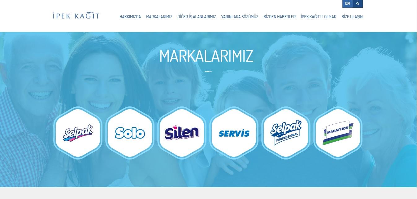 İpek Kağıt'ın Yeni Web Sitesi Yayında