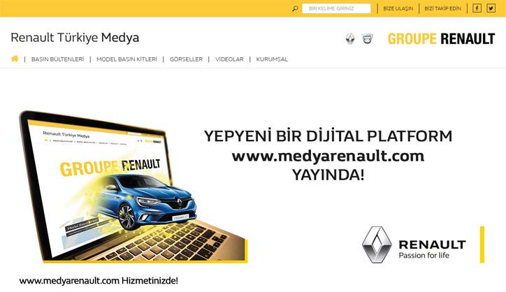 renault türkiye medya sitesi
