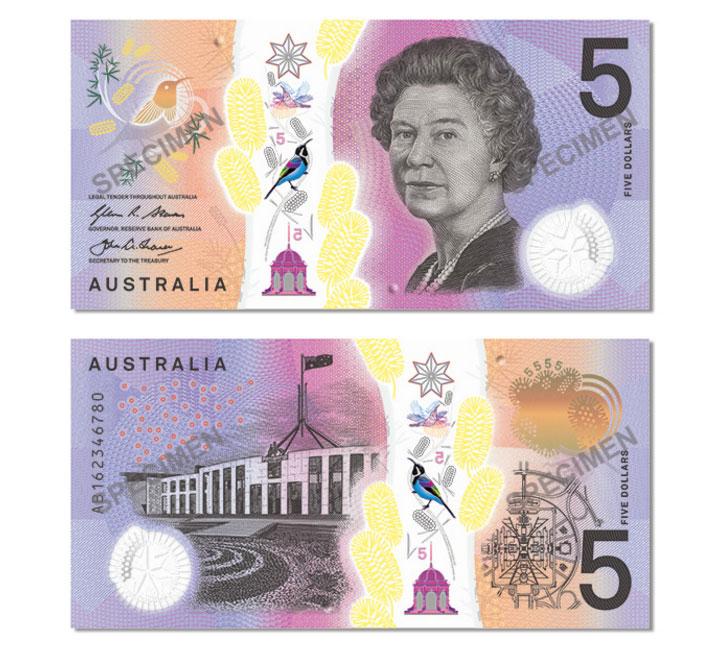 avustralya enteresan banknot tasarımı