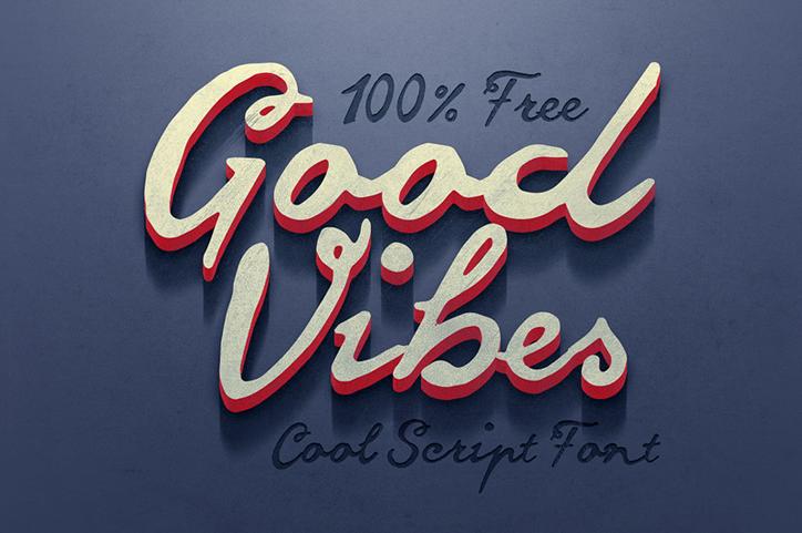 goodvibes yaratıcı font