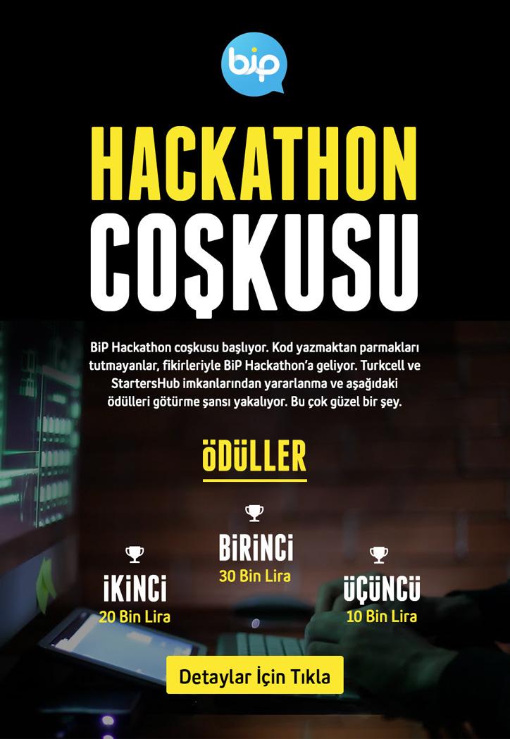 BiP Hackathon etkinlik