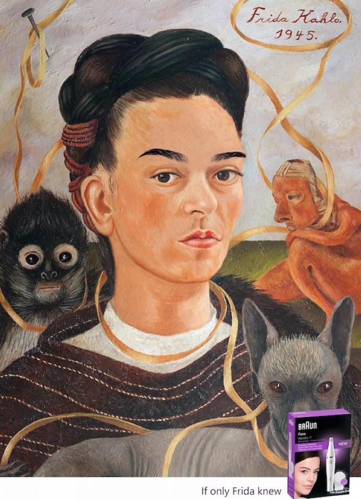 Braun-Frida-Kahlo-basılı-kampanya