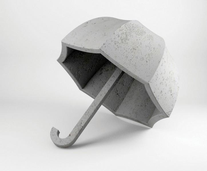 the-uncomfortable-beton-şemsiye