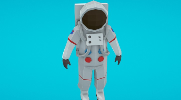 poly-astronaut