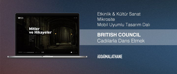 British Council Türkiye-Cadılarla Dans Etmek -DijitalAjanslar